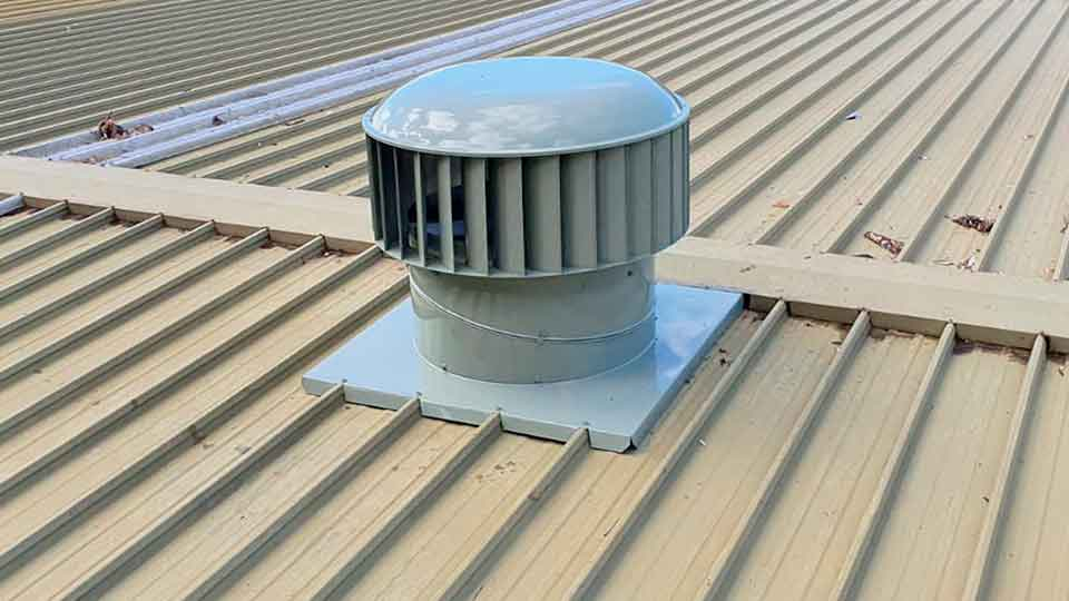 commercial laundry industrial roof vents